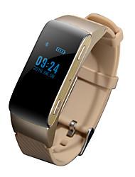 economico -Kimlink DF22 Bracciale smart / Auricolari / Localizzatore di attivitàContapassi / Allarme sveglia / Distanza del monitoraggio /