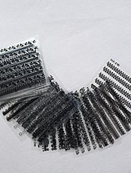 Fashion Women Black/White Lace Nail Art Sticker Decal Diy Manicure Makeup 30Pcs/set