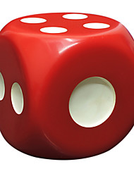 cheap -Royal St Selling Large Dice Resin Materials Environmental Protection And Durable Entertainment Play Regular 50 Mm Black