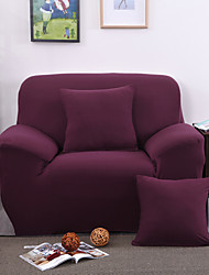cheap -Modern Polyester Sofa Cover, Stretch Anti-mite Solid Colored Slipcovers