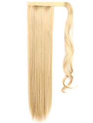cheap -Classic Ponytails High Quality Hair Piece Hair Extension Blonde Daily