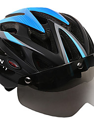 cheap -MOON Adults Bike Helmet Aero Helmet 25 Vents CE Impact Resistant, Light Weight, Adjustable Fit EPS, PC, EVA Sports Road Cycling / Recreational Cycling / Hiking - Red+Black / Bule / Black / Black