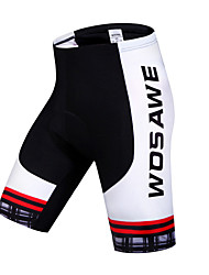 cheap -WOSAWE Cycling Padded Shorts Women's Unisex Bike Padded Shorts/Chamois Shorts Bottoms Bike Wear Quick Dry Breathable Sweat-wicking Limits