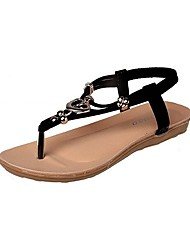 cheap -Women's Shoes Libo New Style Flat Heel Slingback Sandals Office & Career / Dress / Casual Black / Blue / Almond