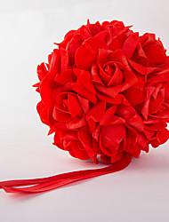6inch(15cm)Foam Rose Flower Ball for Wedding Decoration