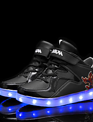 LED Shose Boys' Shoes Casual Fashion Sneakers Black / Blue / Red / White