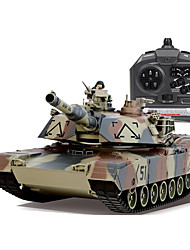 cheap -Wireless Remote  Control Model of Military Control Tanks To Play to Play Children's Toy Car