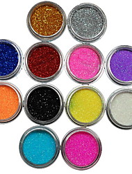 cheap -12pcs Nail Jewelry Glitter & Poudre Powder Other Decorations Fruit Flower Abstract Classic Cartoon Lovely Wedding Punk High Quality Daily