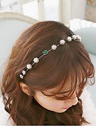 cheap -The New Hot Han Guofa New Imitation Pearl Collar Female Stars Head Hoop Dish Hair 1 PCS