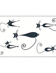Недорогие -Временные тату Тату со стразами Тату с животными Тату с цветами Тату с тотемом мультфильм серии Non Toxic С рисунком Waterproof