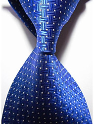 Muž Bavlna / Polyester / Umělé hedvábí Vintage / Roztomilý / Party / Pracovní / Na běžné nošení Kravata,Jednobarevné