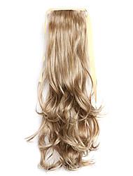 economico -lunghezza d'argento 50 centimetri il nuovo riccio nastro parrucca melange tipo coda di cavallo (colore 10/613)