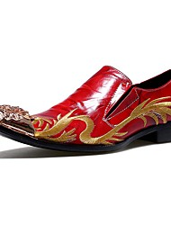 cheap -Men's Shoes Amir Limited Edition Pure Handmade Wedding/Party & Evening Leather Oxfords Red