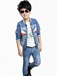 cheap -Boy's Cotton Clothing Set,Summer Print