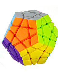 cheap -Rubik's Cube YongJun Smooth Speed Cube Alien Megaminx Speed Professional Level Magic Cube ABS