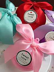 Ball Plastic Favor Holder With Bow Favor Boxes Gift Boxes Candy Jars and Bottles-21