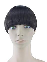 Недорогие -кудрявый вьющиеся каштановые человеческие волосы ткет шиньоны 4005