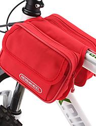 cheap -ROSWHEEL Bike Bag 1.7LBike Frame Bag Moistureproof/Moisture Permeability Waterproof Zipper Wearable Shockproof Bicycle Bag Cloth PVC