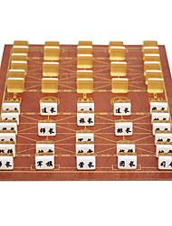 Недорогие -Морская пехота двигаться крупные военные шахматы шахматные костюмы морской пехоты деревянные доски 3,7 черный серебристый + акрил
