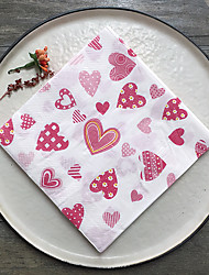 cheap -100% virgin pulp Wedding Napkins - 20 Luncheon Napkins Dinner Napkins Wedding