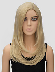 Popular Wig Blonde Long Length Top Quality Synthetic Wigs