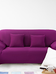 Modern Polyester Sofa Cover , Stretch Solid Slipcovers