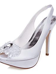Women's Wedding Shoes Heels / Peep Toe Sandals Wedding / Party & Evening /