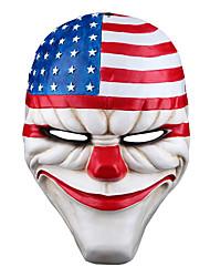 Недорогие -Маски на Хэллоуин Маскарадные маски Поликарбонат Персонаж фильма Ужасы Взрослые