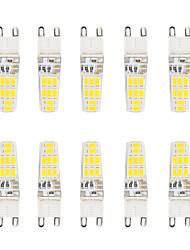 tanie -300 lm G9 Żarówki LED bi-pin T 16 Koraliki LED SMD 5730 Wodoodporne Ciepła biel / Zimna biel 220-240 V / 10 szt. / RoHs / Certyfikat CE