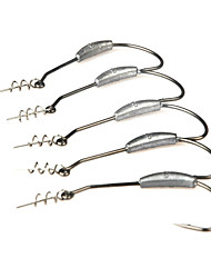 cheap -Fishing-10 pcs Silver Metal-Brand New Sea Fishing / Spinning / Freshwater Fishing / Bass Fishing / Lure Fishing / General Fishing