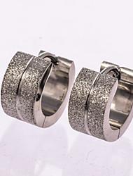 cheap -Men's Stud Earrings Hoop Earrings Rose Gold Sterling Silver Jewelry Wedding Party Daily Casual