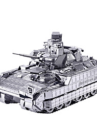 Puzzles 3D Puzzle Puzzles en Métal Voitures de jouet Jouets Tank Chariot 3D Articles d'ameublement Pièces