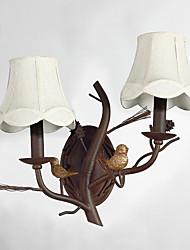 branche industrielle lampe de mur rétro personnalité décorer dans le mur de lumière hallyway / foyer / chambre à coucher