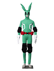 cheap -Inspired by My Hero Academy Battle For All / Boku no Hero Academia Midoriya Izuku Anime Cosplay Costumes Cosplay Suits Solid Colored Long