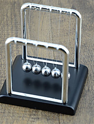 cheap -Large square, T-shaped table decorations Newton billiard ball pendulum