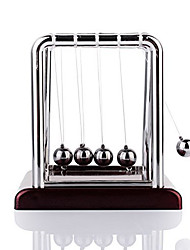 cheap -Mini Desktop Newton's Cradle Classic Newtons Cradle Balance Balls Science Psychology Puzzle Desk Toy