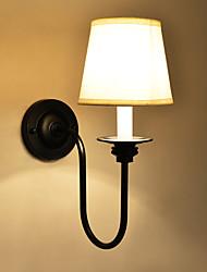 abordables -AC 100-240 60w E12/E14 Rústico/ Campestre Pintura Característica for Mini Estilo,Luz Ambiente Candelabro de pared Luz de pared