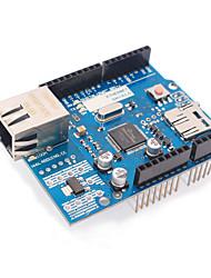 Недорогие -обновленная версия Ethernet W5100 r3 щит поддержки сети плата UNO / mega2560