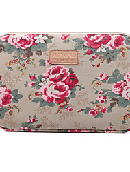 "14.1"" 15.6"" Peony pattern Laptop Cover Sleeves Shakeproof Case for Macbook,Surface,HP,Dell,Samsung,Sony,Etc"