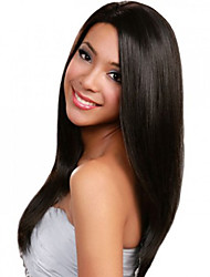 Women Long Straight Synthetic Wigs Medium Side Bang Heat Resistant Fiber Cheap Cosplay Party Wig Hair