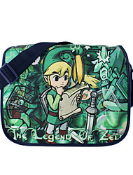 Borsa Ispirato da The Legend of Zelda Cosplay Anime Accessori Cosplay Borsa Nero Nylon Uomo / Donna