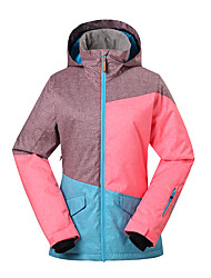 GSOU SNOW® Ski Wear Ski/Snowboard Jackets Women's Winter Wear Polyester Winter ClothingWaterproof / Breathable / Thermal / Warm /