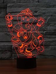 Светодиодный сенсорный светильник таблицы для атмосферы рождества 3d свет ночи Lampara касания lampcolor меняющегося свет ночи