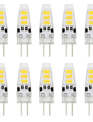 cheap -2W G4 LED Bi-pin Lights T 6 SMD 5733 150-200 lm Warm White Cold White 3000/6000 K Decorative DC 12 V