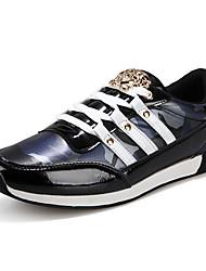 cheap -Men's Fashion Casual Shoes Microfiber Board Flats Sneakers Shoes