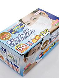 הלא הפנויה יפן ארוגים שלוש שכבות של מסיכת אבק אבקה נגד מסכת גזת 50 חתיכות