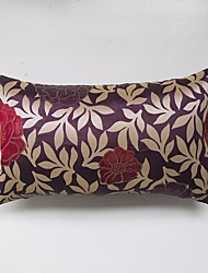jacquard Cushion Cover-Purple
