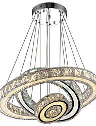 cheap -Modern / Contemporary Chandelier Ambient Light - Crystal LED, 110-120V 220-240V LED Light Source Included