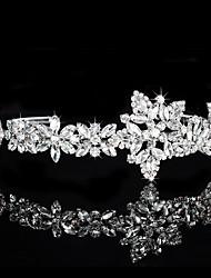 abordables -laiton cristal strass diadèmes bandeau classique style féminin