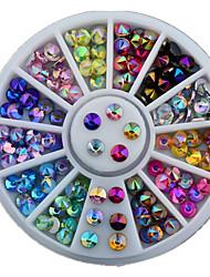 abordables -1 Glitters Mode Kits de décoration Haute qualité Nail Art Design Quotidien